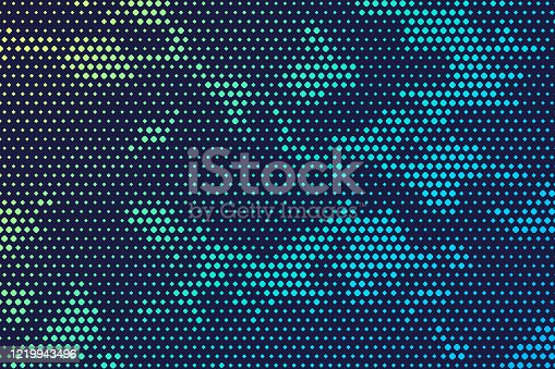 Modern Military digital camouflage background pattern.