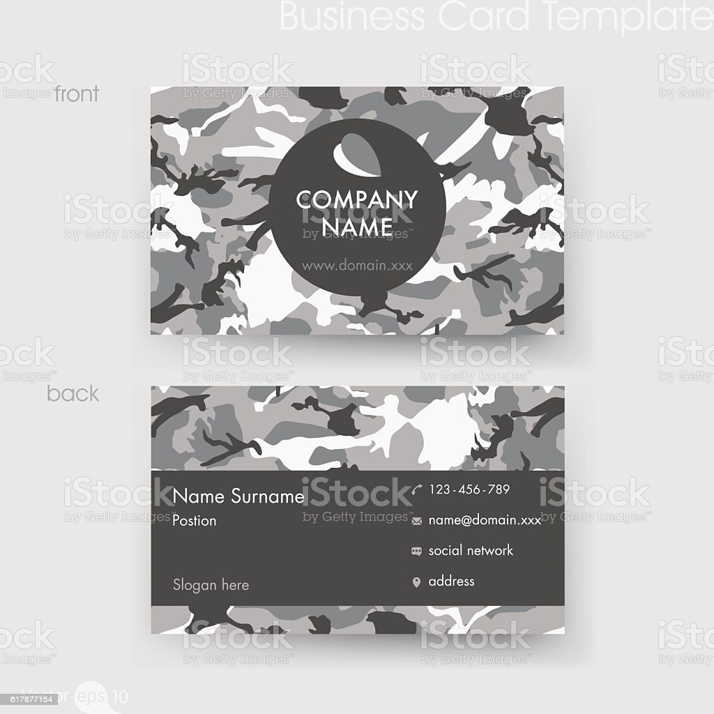 Camouflage Business Cards Images - Free Business Cards