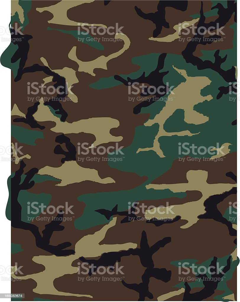 Camouflage Pattern in Dark Brown royalty-free camouflage pattern in dark brown stock vector art & more images of africa