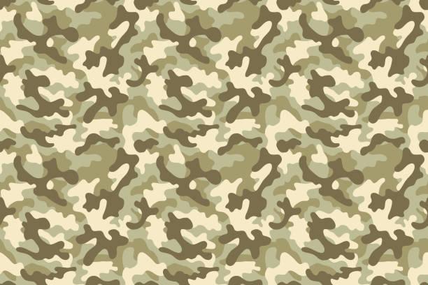camouflage seamless pattern - 偽裝 幅插畫檔、美工圖案、卡通及圖標