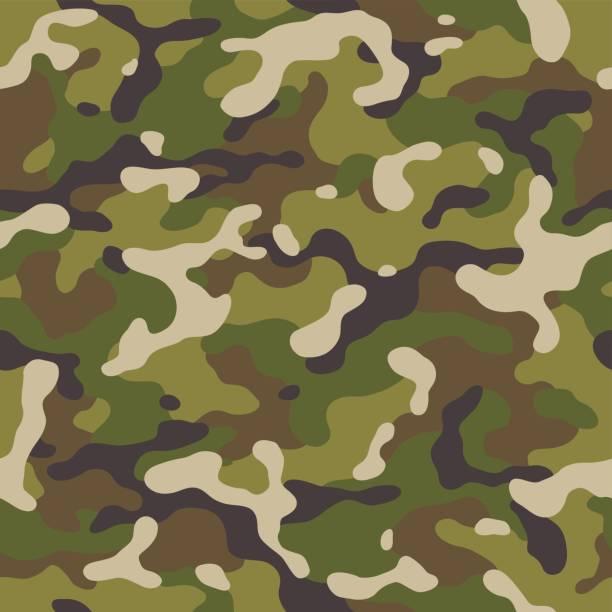 Camouflage seamless – Vektorgrafik