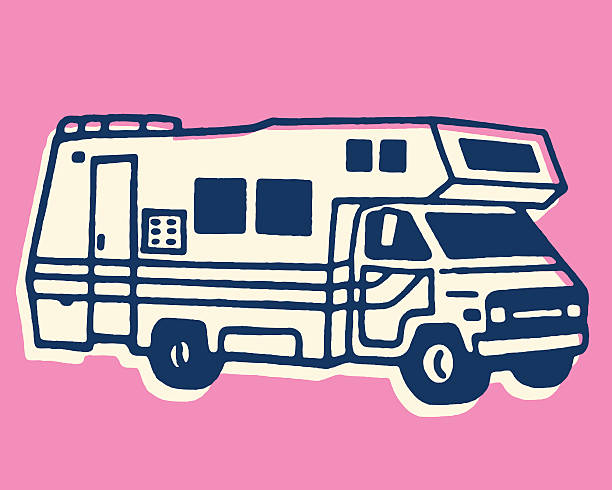 RV Camper http://csaimages.com/images/istockprofile/csa_vector_dsp.jpg motor home stock illustrations