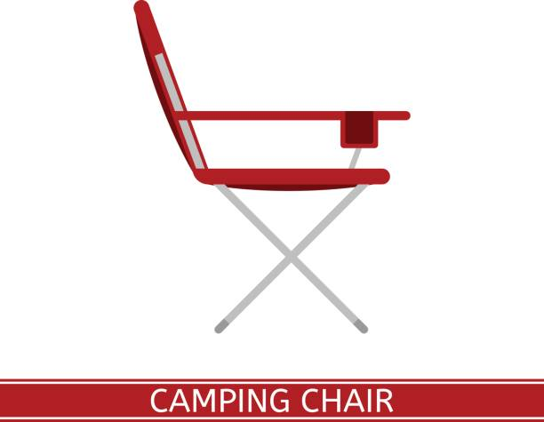 Best Folding Chair Illustrations Royalty Free Vector
