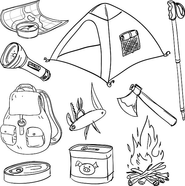 Best Campfire Illustrations, Royalty-Free Vector Graphics