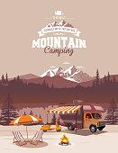 istock Camping illustration 1185624492
