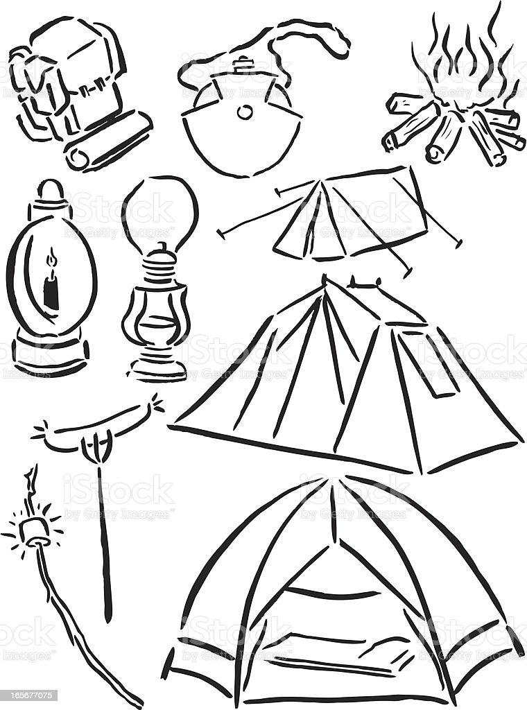 91 Click The Camping Backpack Coloring Pages Backpack Coloring Pages