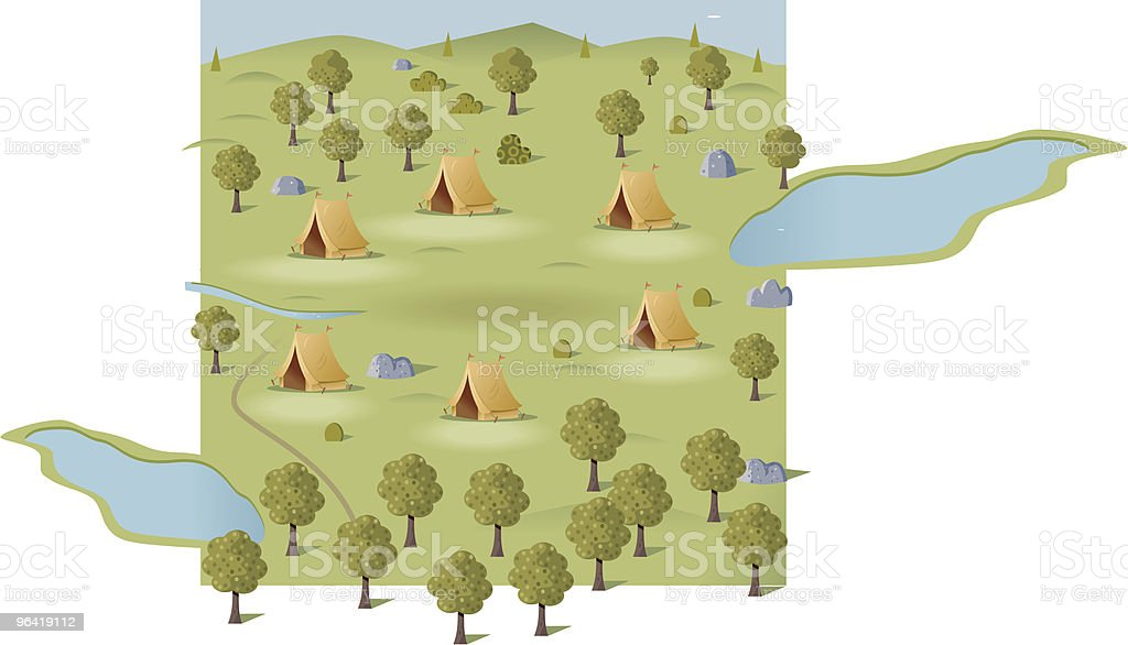 Camping royalty-free camping stock vector art & more images of adventure