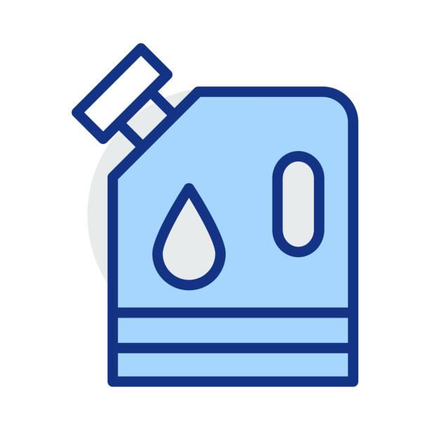 Kann Benzin tanken – Vektorgrafik