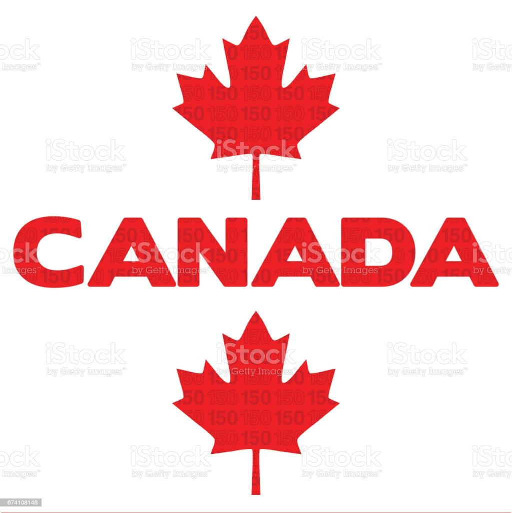 Canada 150 graphic royalty-free canada 150 graphic stock vector art & more images of birthday