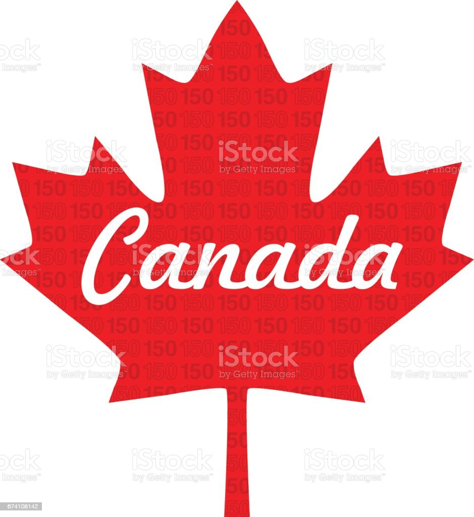 Canada 150 Maple Leaf Stock Vector Art & More Images of ...