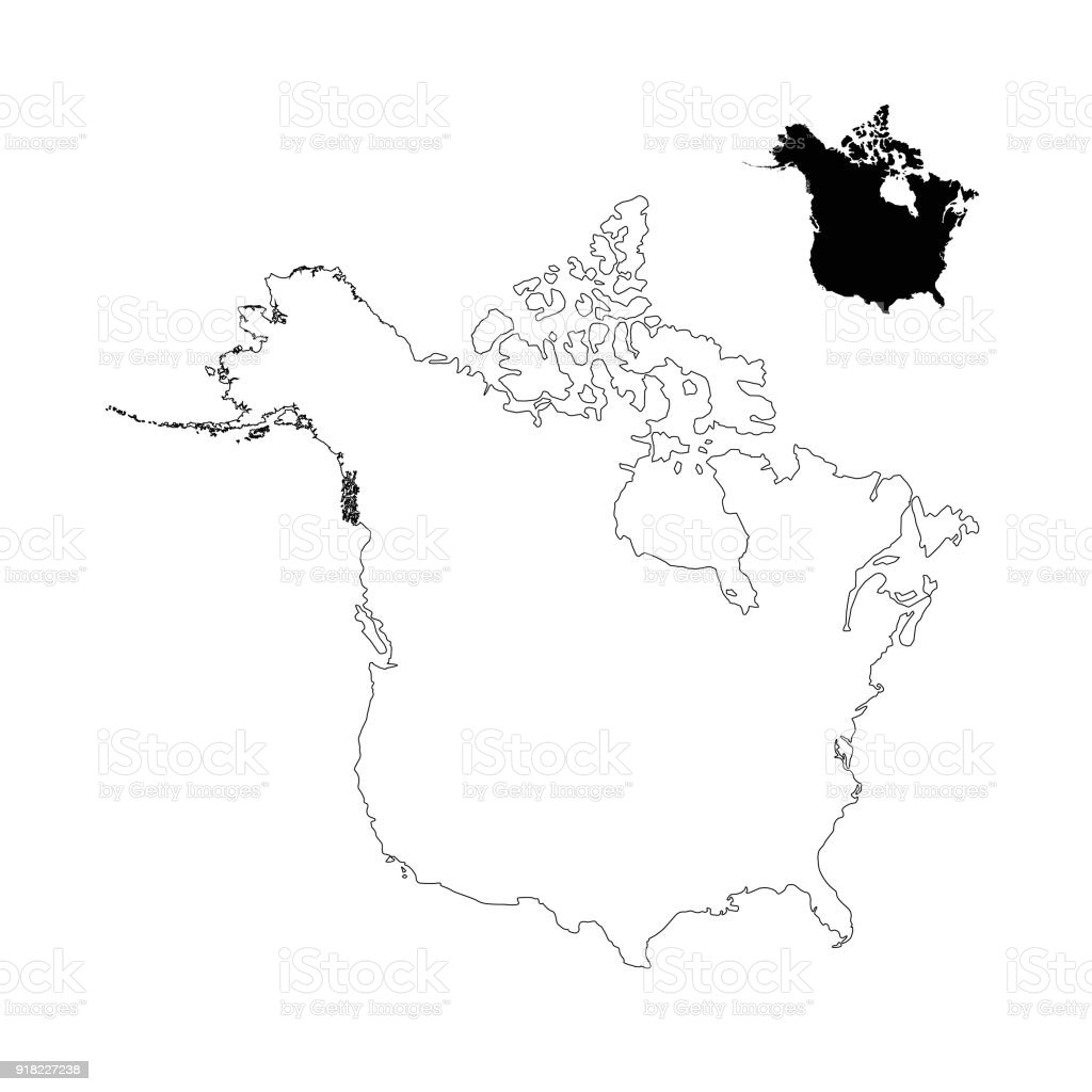 Us Map Outline With States Blank Picture