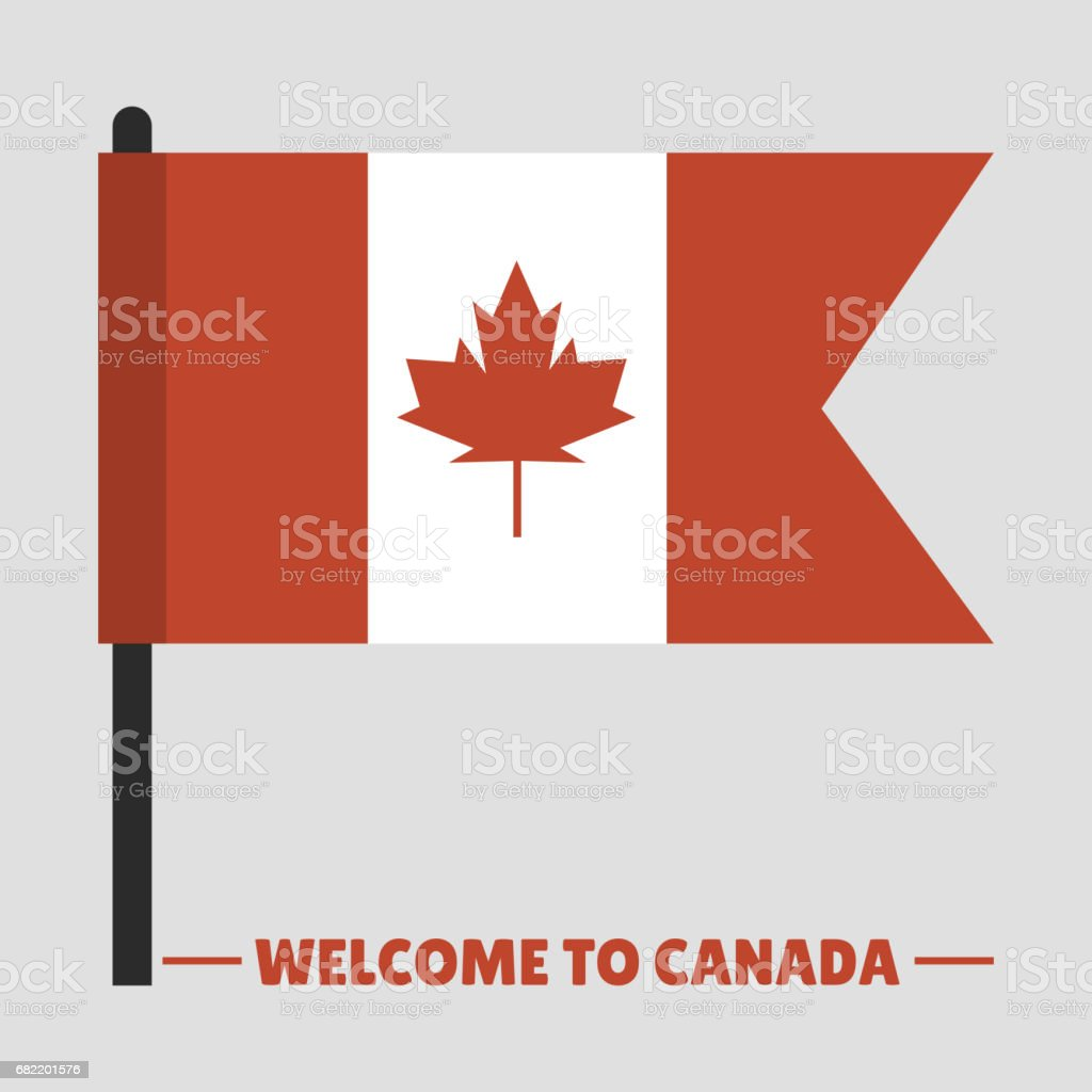 Canada Country Flag Symbol Maple Leaf Canadian Freedom Nation
