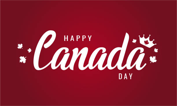 canada day - canada day stock illustrations