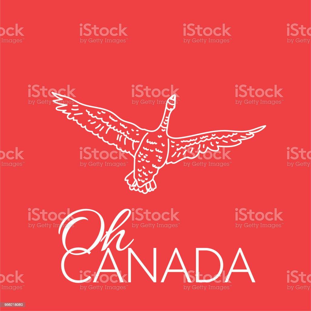 canada goose logo vector