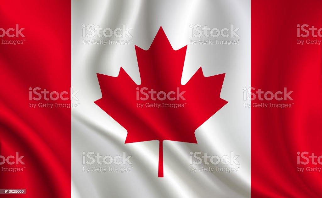 Canada flag background Canada flag background Abstract stock vector