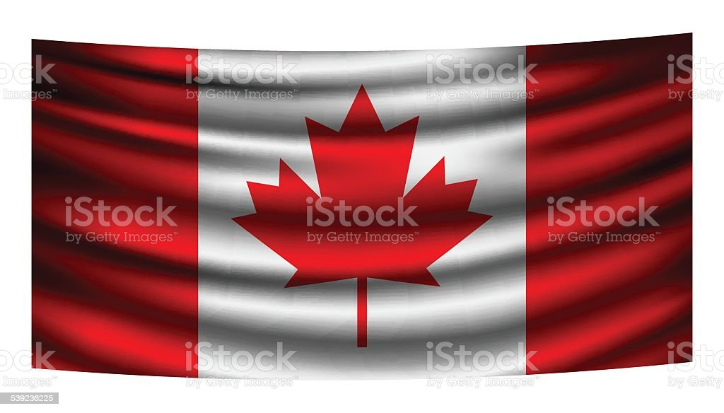 Canada Flag Curtain royalty-free canada flag curtain stock vector art & more images of abstract