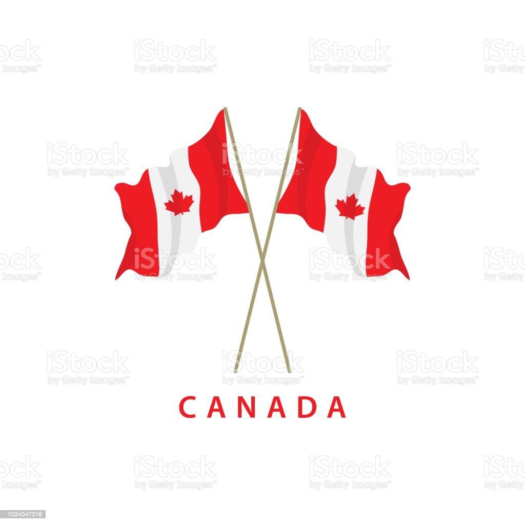 Canada Flag Vector Template Design Illustration