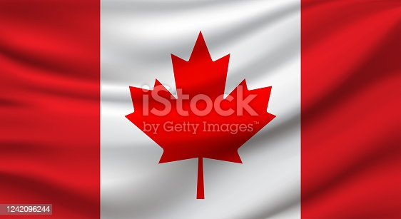 istock Canada Flag. Vector 1242096244