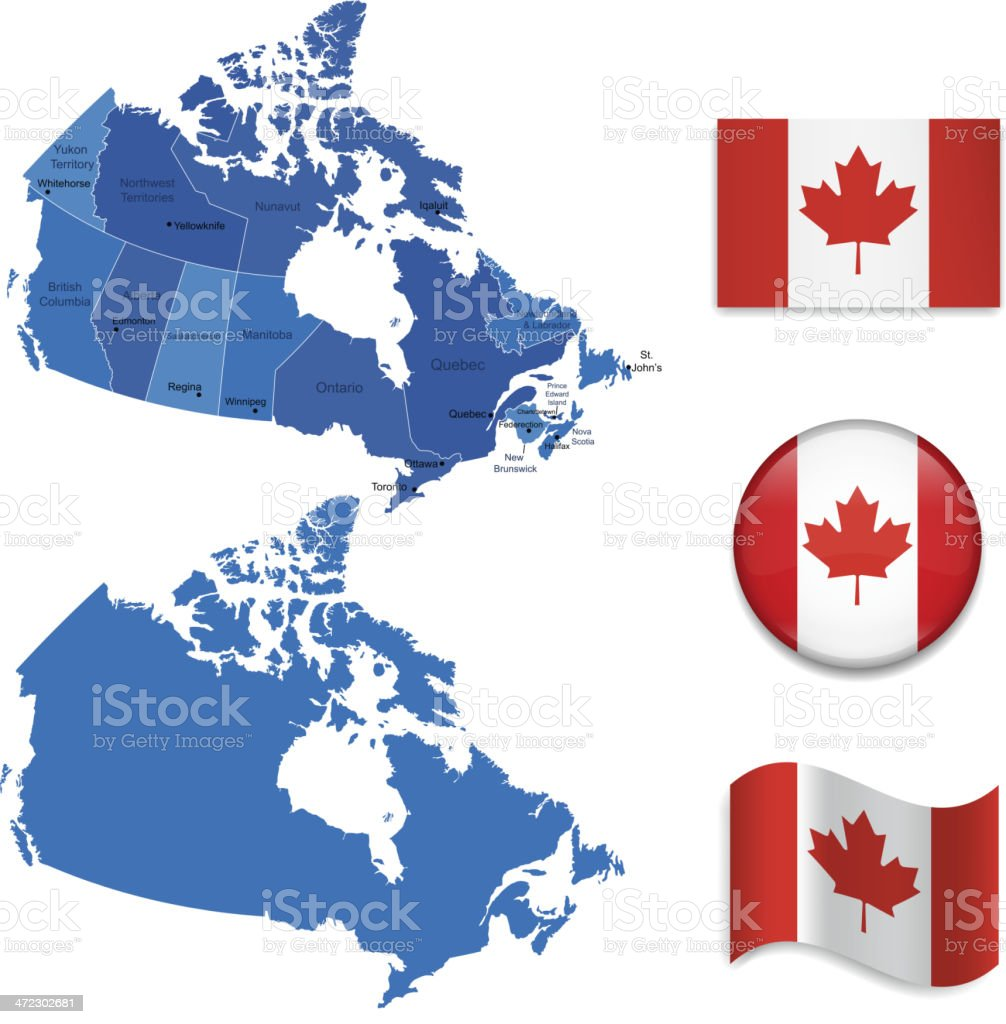 Canada icon set royalty-free canada icon set stock vector art & more images of alberta