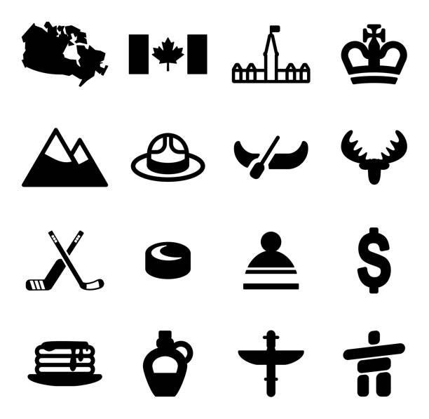Canada Icons This image is a vector illustration and can be scaled to any size without loss of resolution. maple syrup stock illustrations