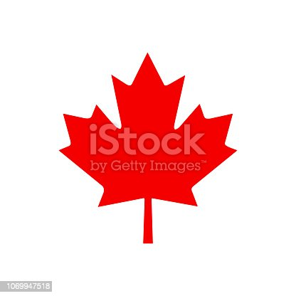 Canada leaf. Vector Illustration