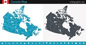 Canada Map - Infographic Set
