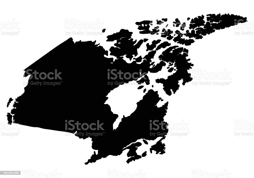 Canada map outline vector stock vector art more images of abstract canada map outline vector royalty free canada map outline vector stock vector art amp gumiabroncs Image collections