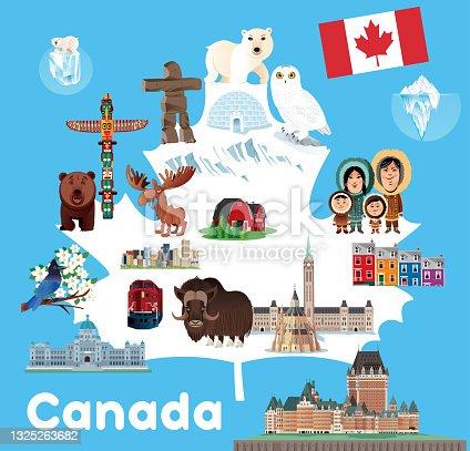 istock Canada Symbols 1325263682