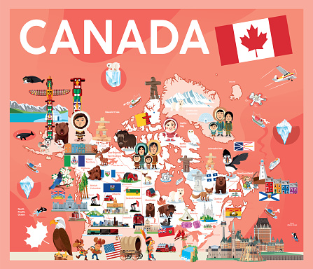 Canada Travel Map