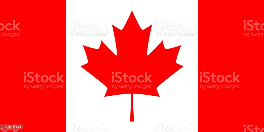 Canada vector flag vector art illustration