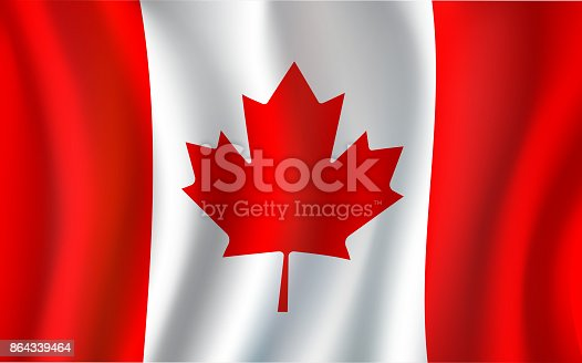 Canadian Flag Maple Leaf 3d Symbol Of Canada Stock Vector Art More