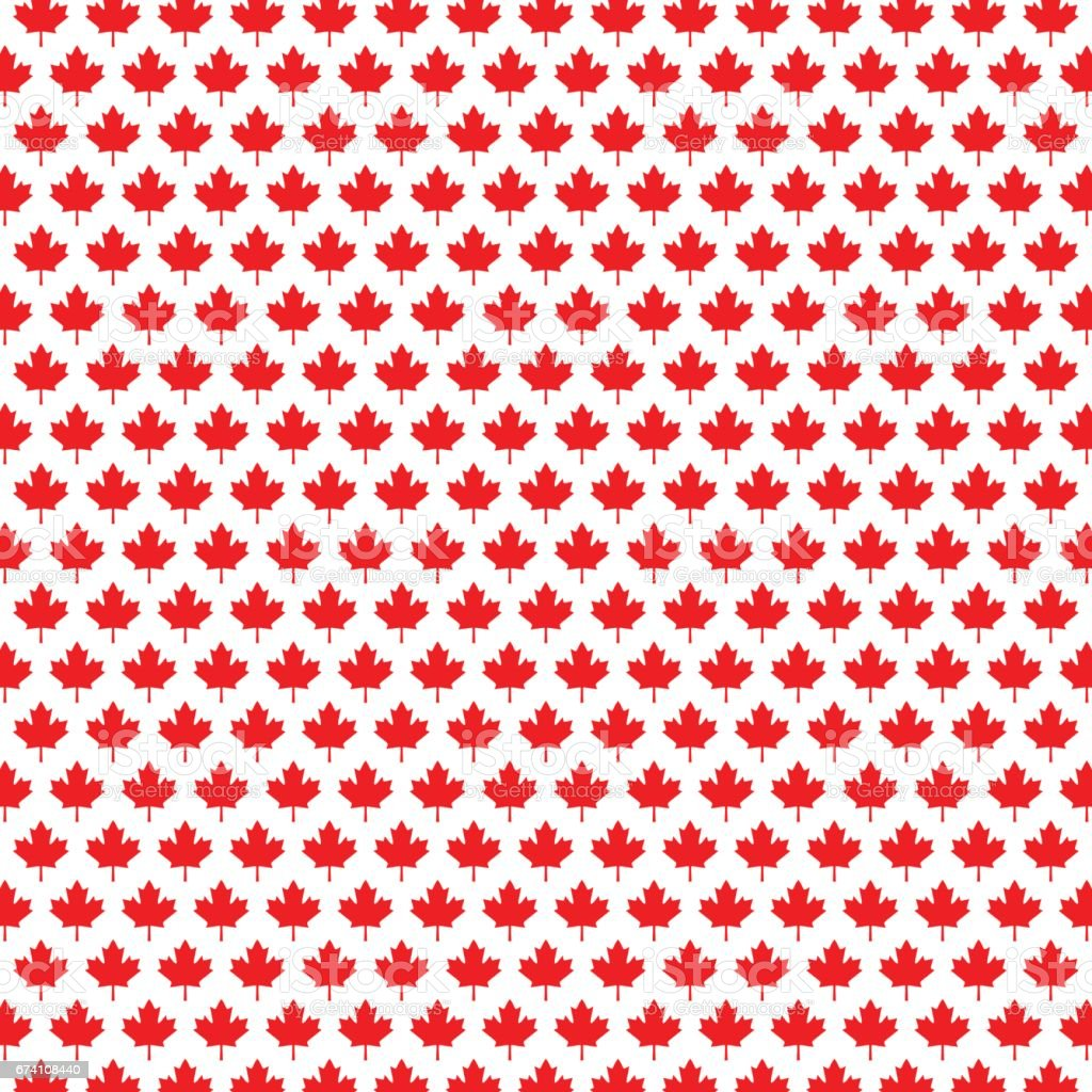 Canadian Maple Leaf Background Stock Vector Art & More ...