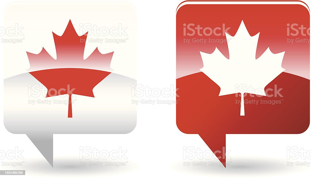 Canadian National symbol royalty-free stock vector art