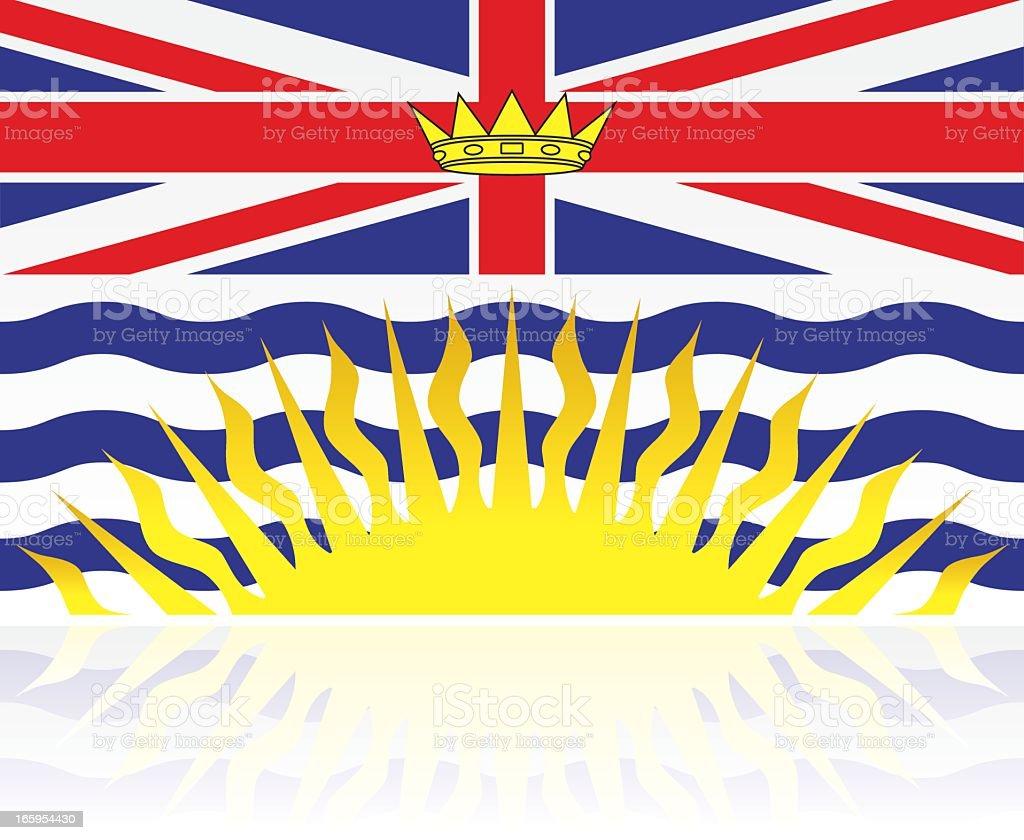 Canadian Provincial Flag: British Columbia royalty-free canadian provincial flag british columbia stock vector art & more images of british columbia