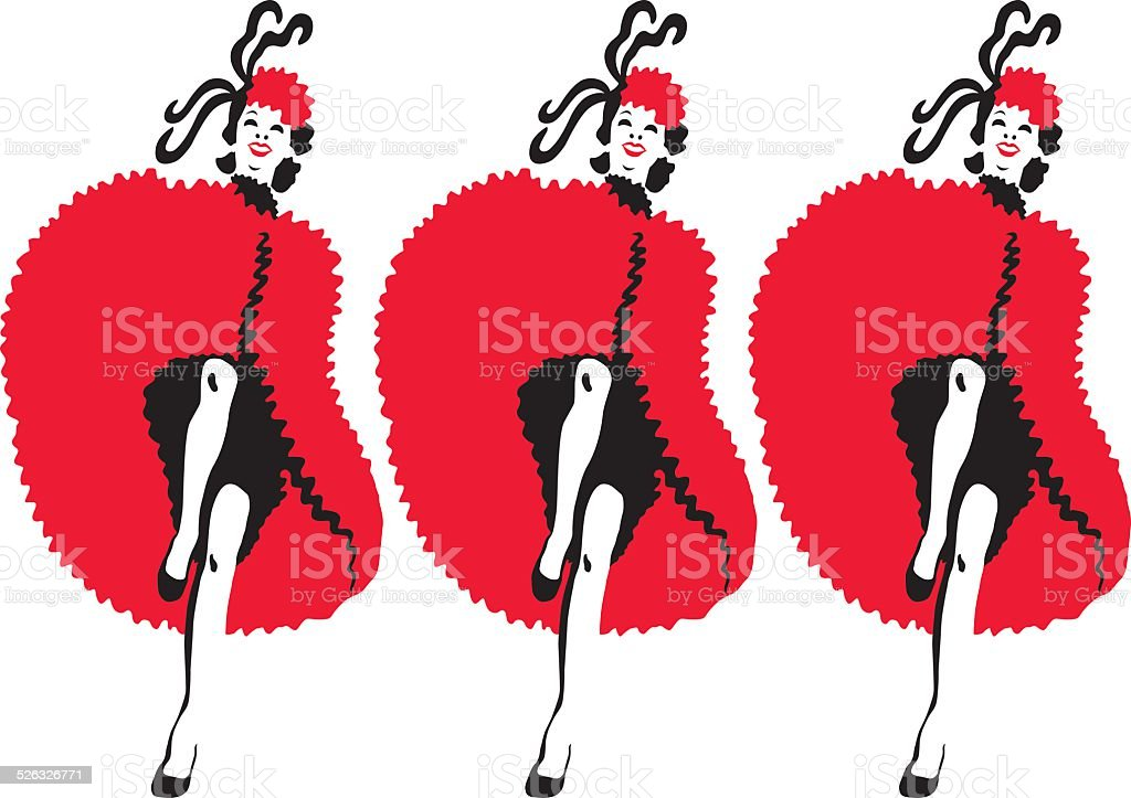 royalty free showgirl clip art vector images