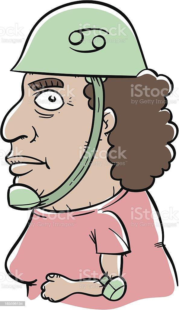 El cáncer ilustración de el cáncer y más banco de imágenes de accesorio de cabeza libre de derechos
