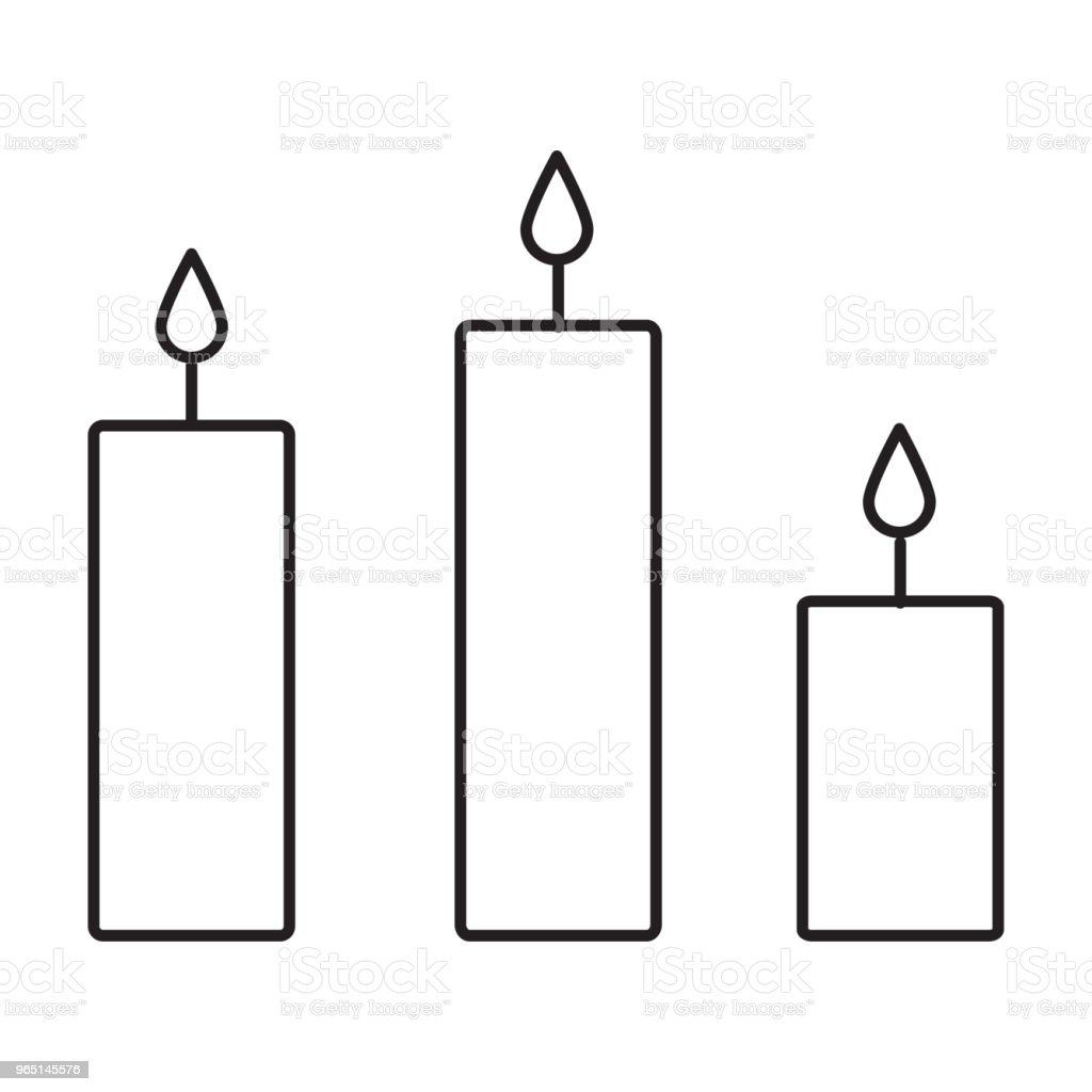 candles line icon royalty-free candles line icon stock vector art & more images of azerbaijan
