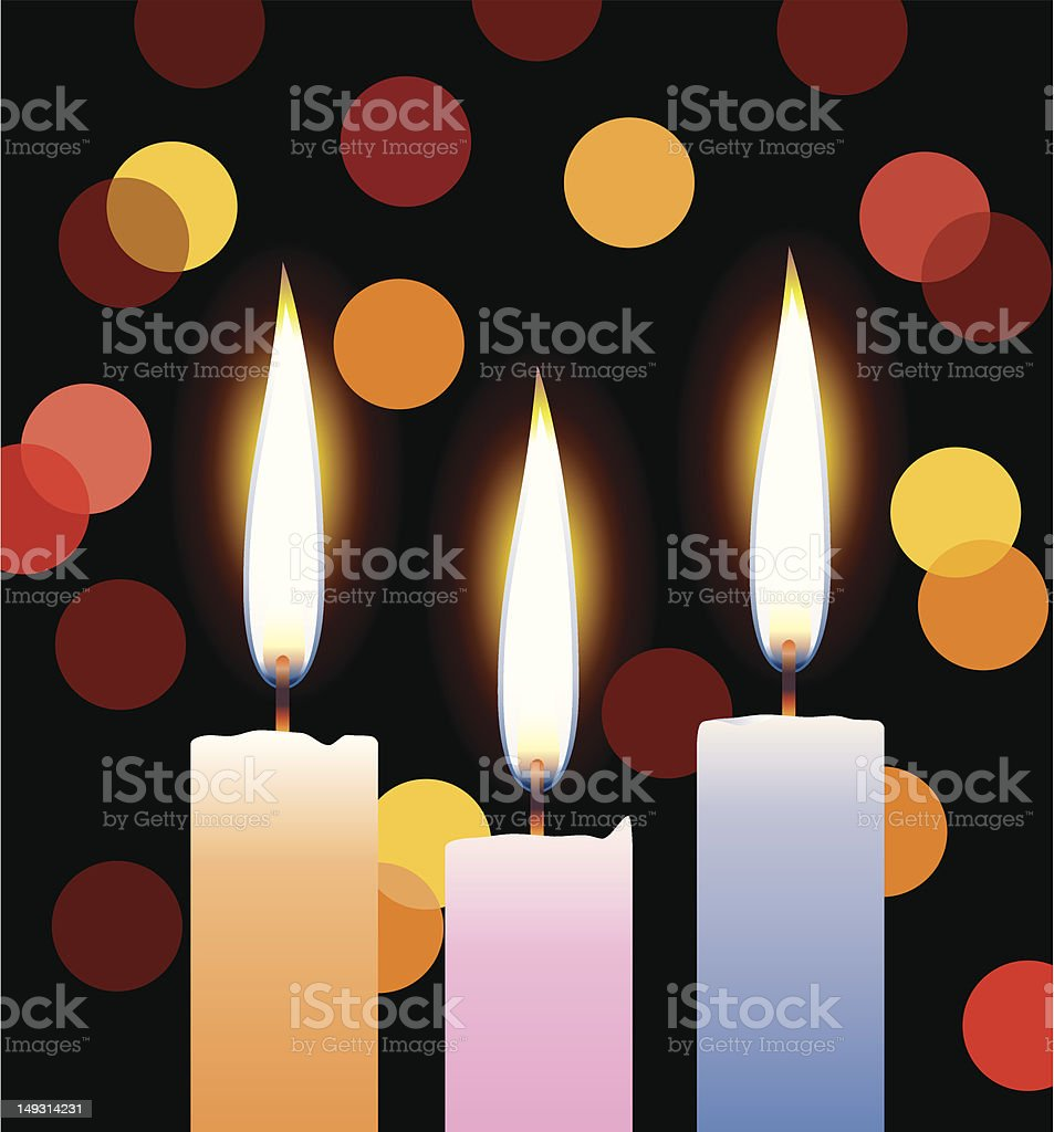 candles with lights royalty-free candles with lights stock vector art & more images of black color