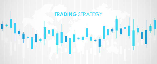 Candlestick. Trading graphic. Stock market graph. Financial chart. Investment in forex indicators. Abstract background. Flat style vector illustration. Candlestick. Trading graphic. Stock market graph. Financial chart. Investment in forex indicators. Abstract background. Flat style vector illustration. candlestick holder stock illustrations