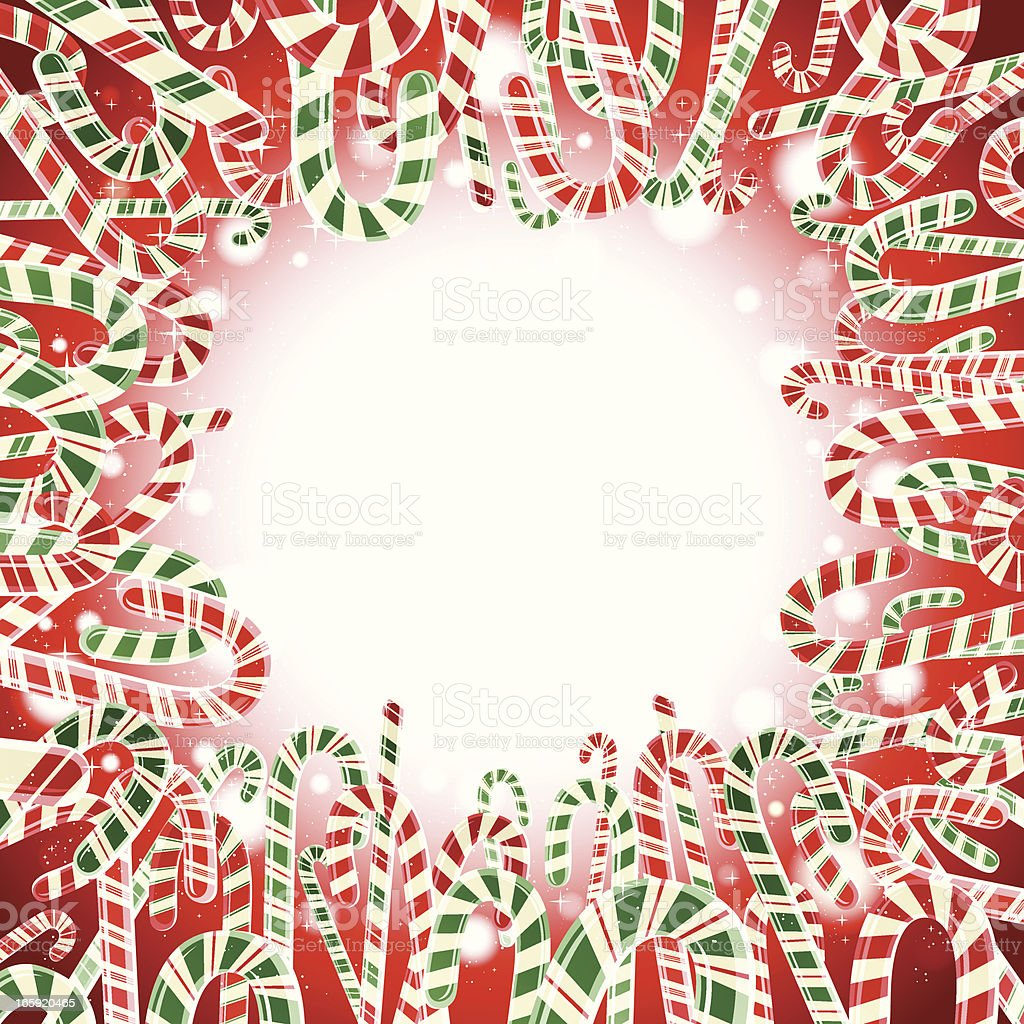 Candy Cane Frame royalty-free candy cane frame stock vector art & more images of backgrounds