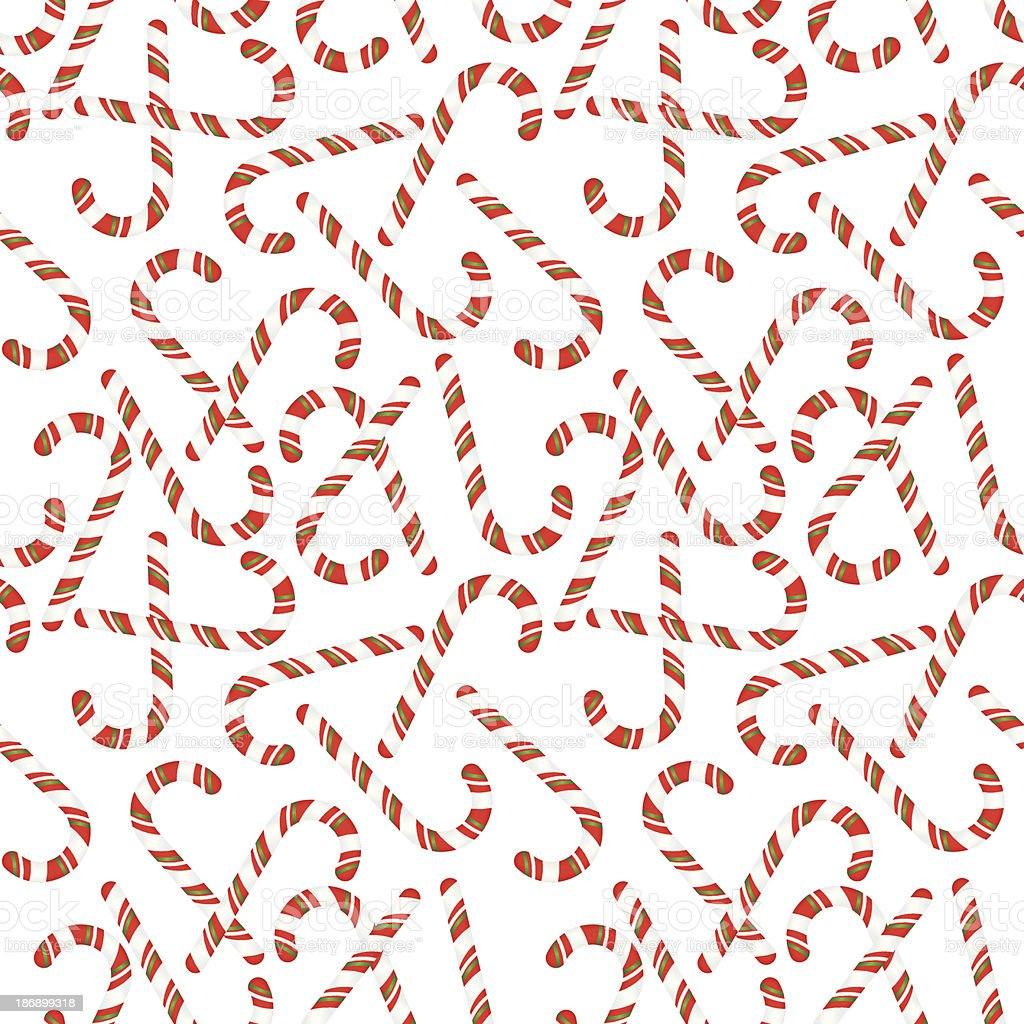 candy canes seamless pattern on white background stock vector art
