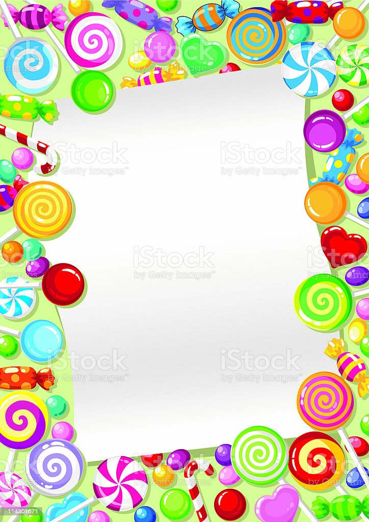 candy card royalty-free candy card stock vector art & more images of backgrounds