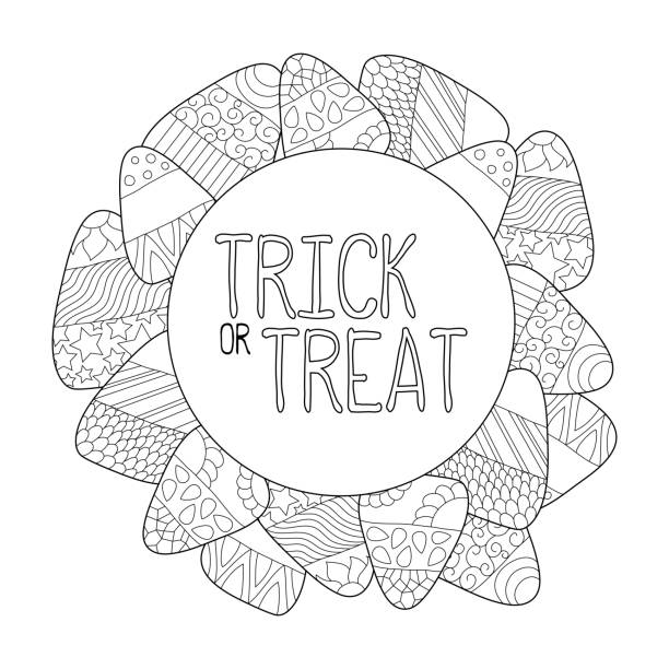Halloween Page Borders Background Illustrations, Royalty ...