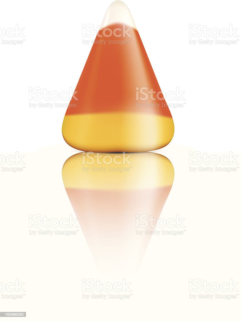 Candy Corn - Vector Illustration royalty-free candy corn vector illustration stock vector art & more images of candy
