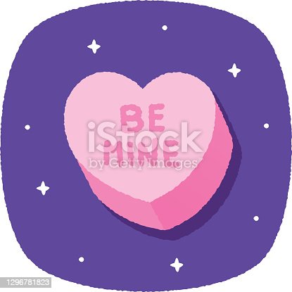 istock Candy Heart Doodle 4 1296781823