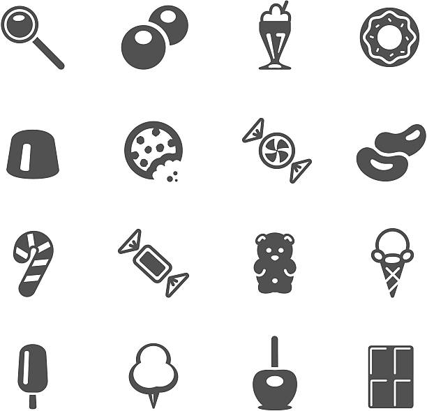 Candy Icons http://www.cumulocreative.com/istock/File Types.jpg candy icons stock illustrations