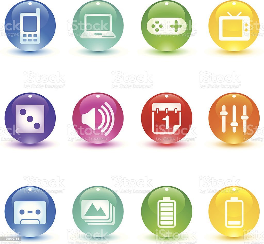 Candy Series - Device royalty-free stock vector art