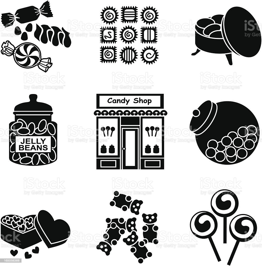 candy shop royalty-free stock vector art
