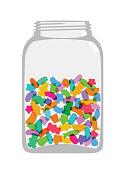 Candy Sweet Jar