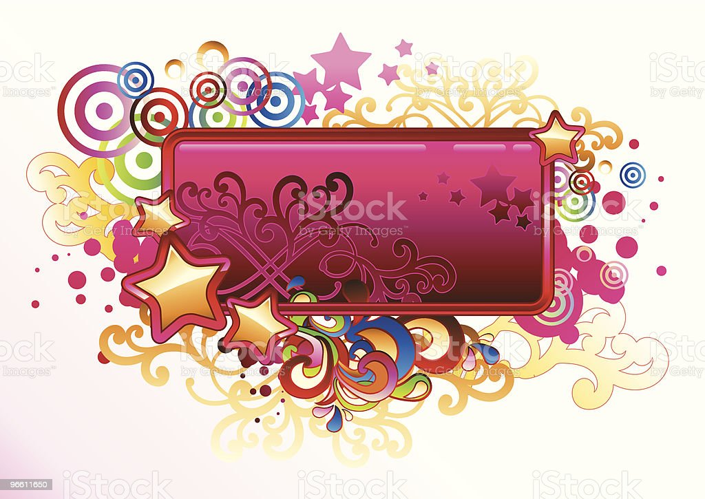 Candy tag - Royalty-free Abstract stock vector